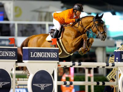Baloubet du rouet out of sister to london!